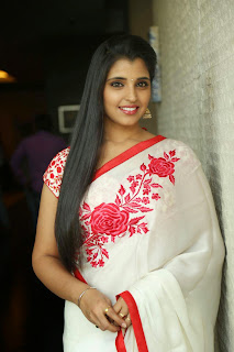 Shyamala Stills At Uttama Villain Movie Release Date Press Meet   (13).jpg