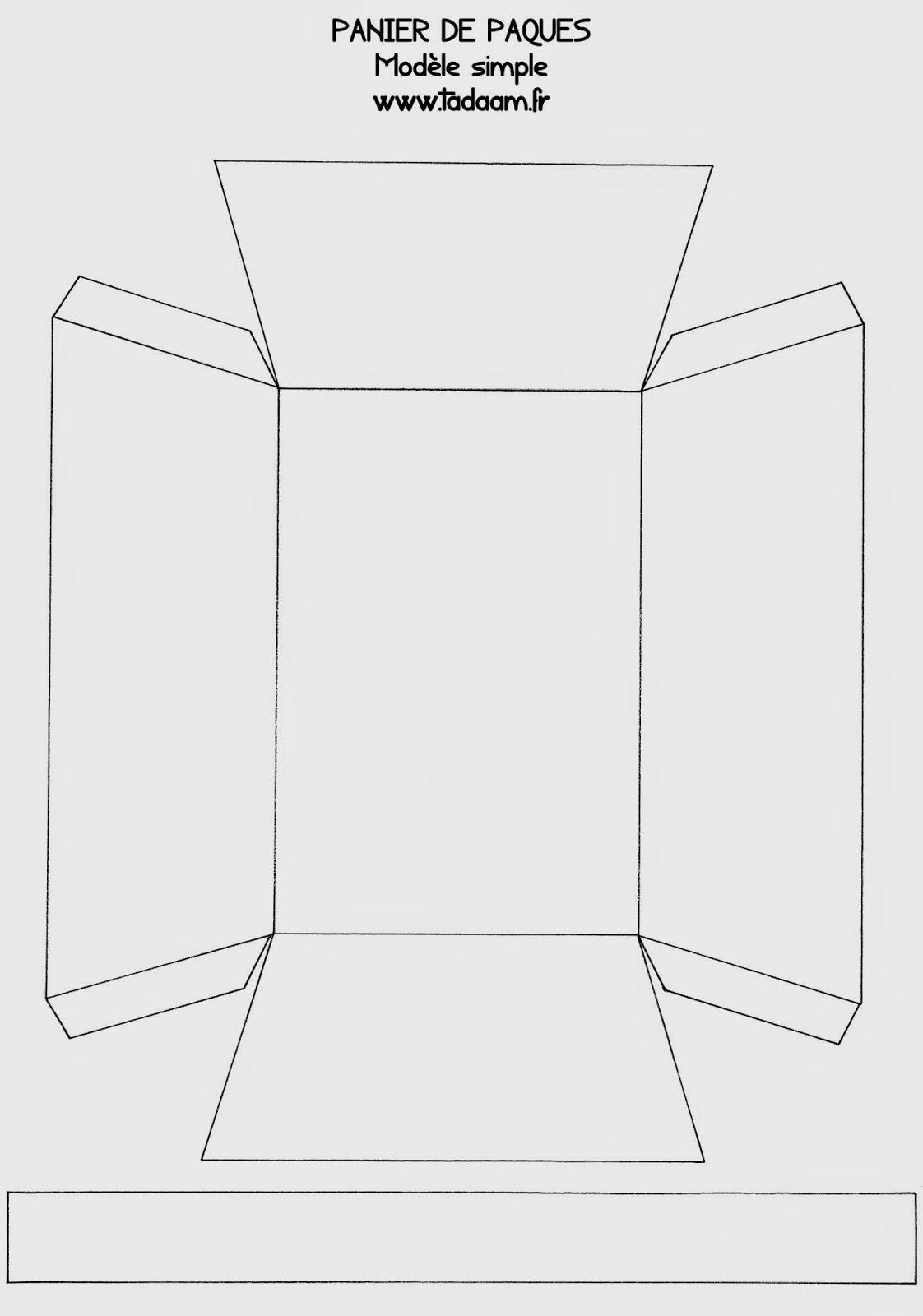 Tadaam printable panier de p ques colorier - Modele de paques a imprimer ...