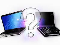 Perbedaan Laptop , Netbook , dan Notebook