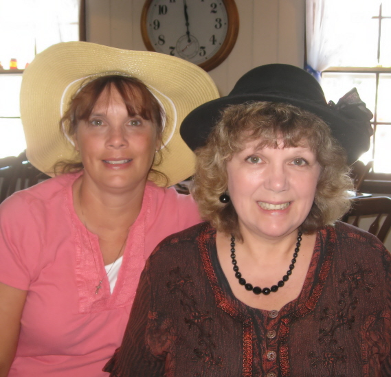 ... mom turns 80 tomorrow, and today, my Aunt Shirley treated Mom, and