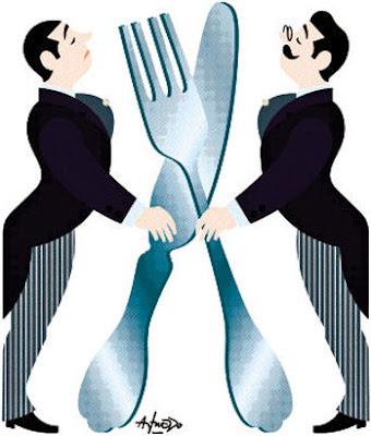 Matrimonio e un tocco di classe protocolo y etiqueta en - Como se sirve en la mesa ...
