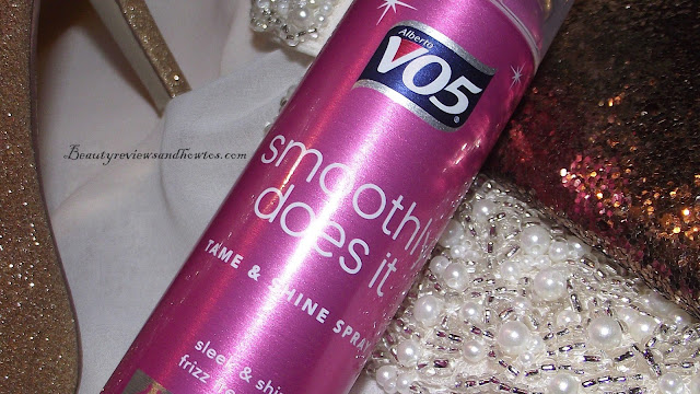 VO5 Smoothly Does It Tame & Shine Spray Review
