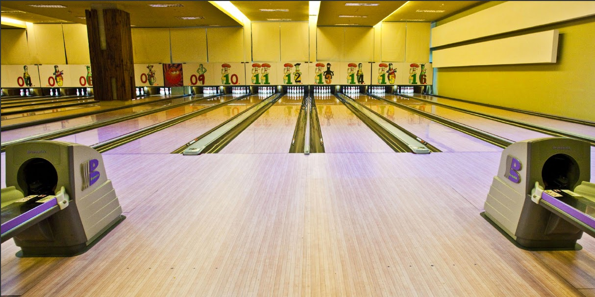 16-Lane Bowling Alley at e-o-d, Noida