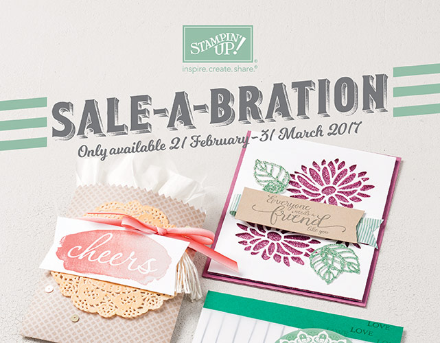 Extra Sale-A-Bration items!