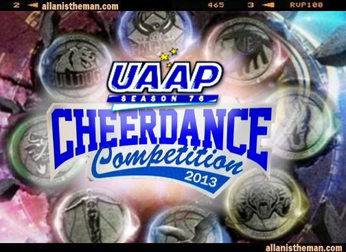 UAAP Cheerdance Competition 2013 Live Streaming