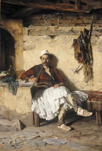 Albanian Sentinel Resting (Arnaueti)