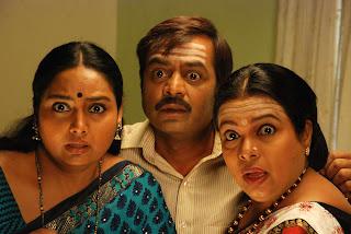 Shruti and Umashri in comedy role one kannada awaited movie kalpana