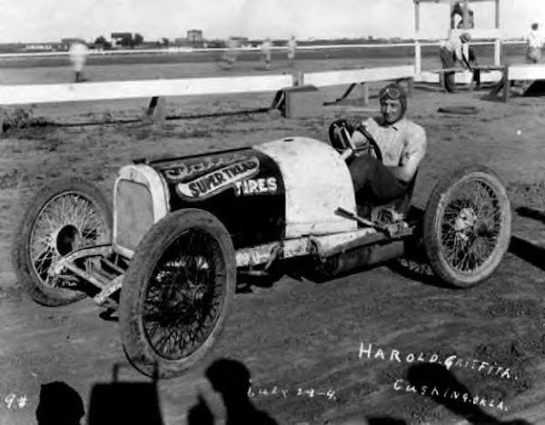 Mid 20s, Cushing Oklahoma. Harold Griffith