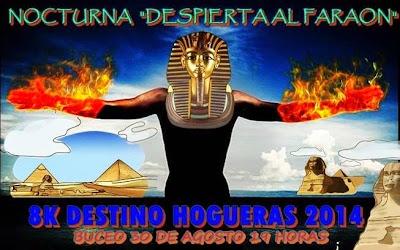 8k corrida nocturna Faraones (Buceo, 30/ago/2014)