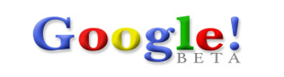 Google 3rd Logo in September 1998