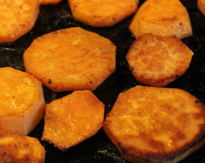 how to make sweet potato fries in the toaster oven