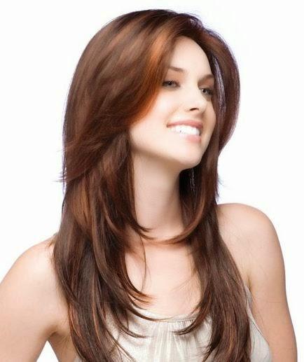 gambar potongan rambut layer pendek