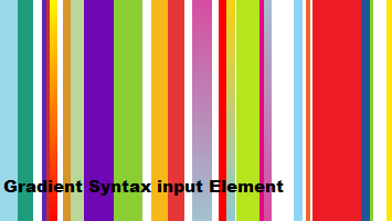 Gradient syntax image