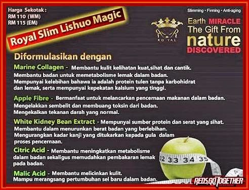 harga promosi royal slim, royal slim johor, royal slim shah alam, isi kandungan royal slim