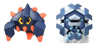 Pokemon Figure Tomy MC Boldore Cryogonal