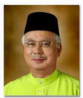 Pengerusi Badan Perhubungan UMNO Negeri Selangor,Dato' Sri Hj.Mohd Najib bin Tun Hj.Abdul Razak