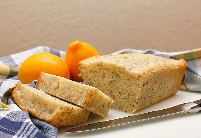 APPLE A DAY: Lemon-Chia Seed Tea Bread