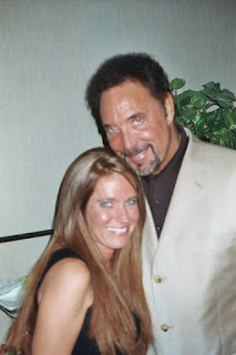 Charlotte Laws and Tom Jones in 2004