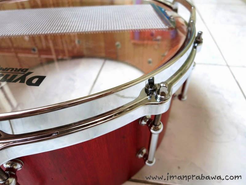 Hasil Membersihkan Rim Snare Drum