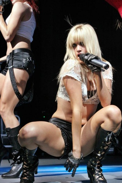 Pussycat Dolls Upskirt Pussy Slips And Nipple On Stage
