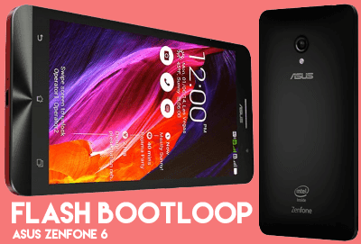 Cara Flash Bootloop Asus Zenfone 6 Stock Logo