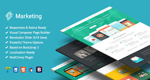 Marketing offers powerful and flexible theme options