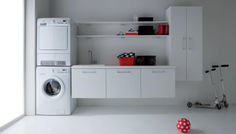 Area de dise o piezas modulares para el cuarto de lavado for Diseno de muebles para cuarto de lavado