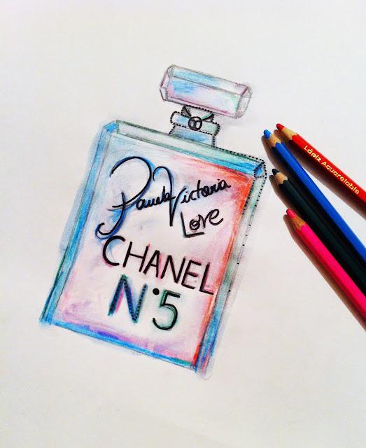 CHANEL No.5 PINTADO POR PAMELA VICTORIA - PAMELAVICTORIA.CL