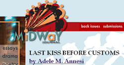 """Last Kiss Before Customs"" now in Midway Journal"
