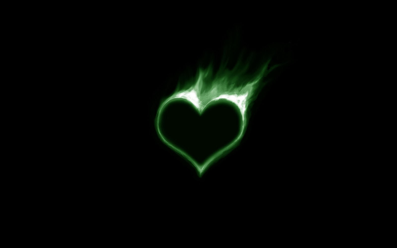 green hearts background - photo #11