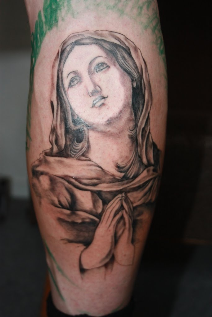mary tattoos. Virgin Mary tattoo (first