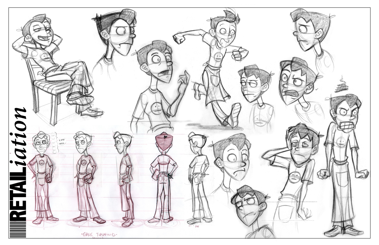 Character Design Presentation : The lowedown official of casey lowe
