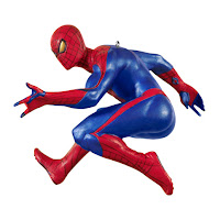 The Amazing Spider-Man Hallmark ornament, Christmas