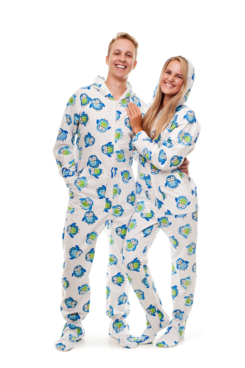 Kajamaz Adult Footie Pajamas