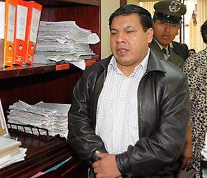 Presos en Bolivia