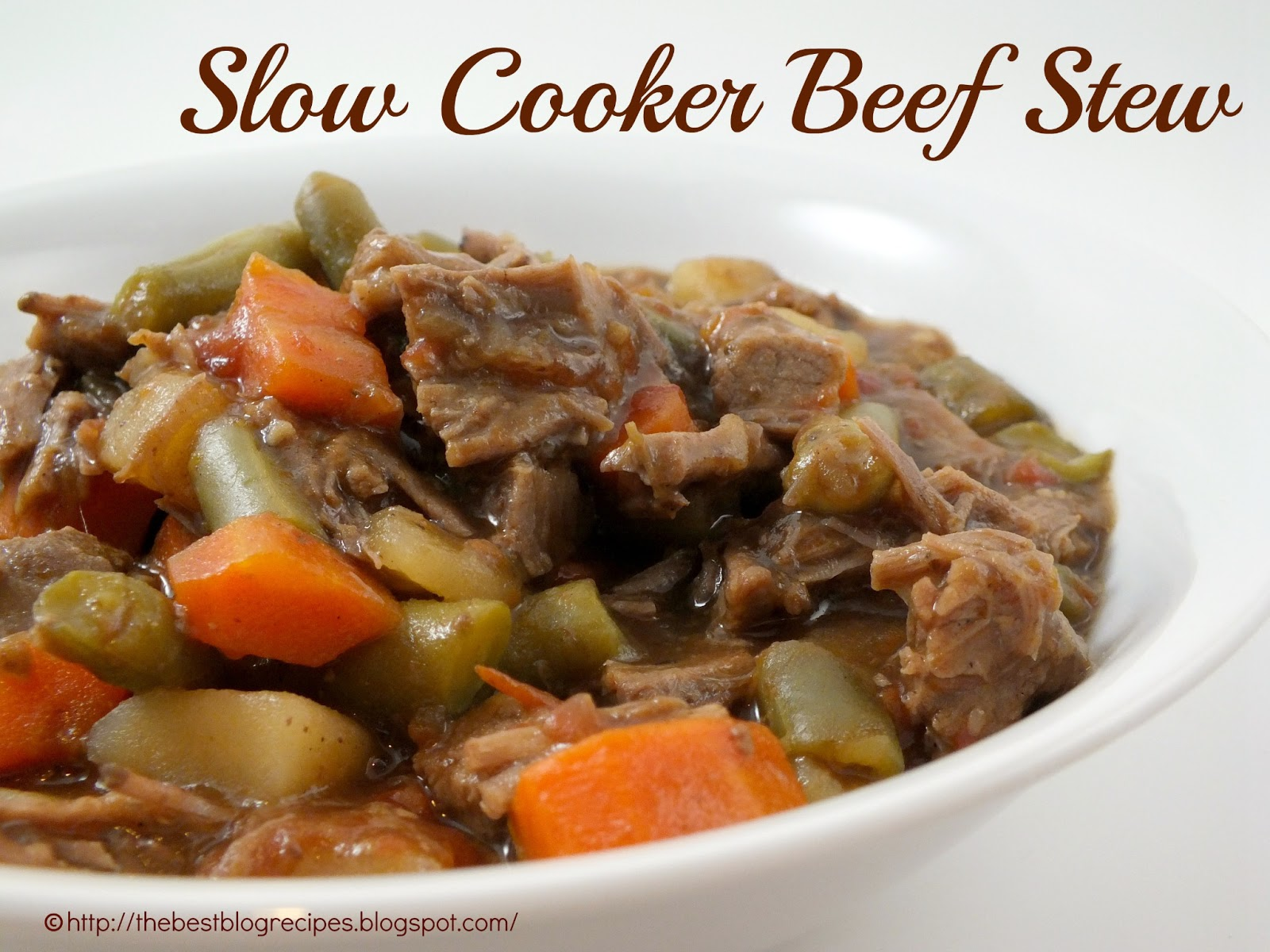 The Best Blog Recipes: Slow Cooker Beef Stew