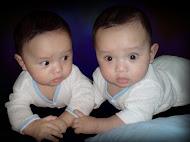 Adik & abang 5 bulan