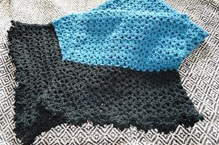 Infant's Trinity Stitch Prayer Shawl - Knitting Pattern