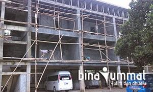 Bina Ummat - Bangun Gedung Asrama yang Representative