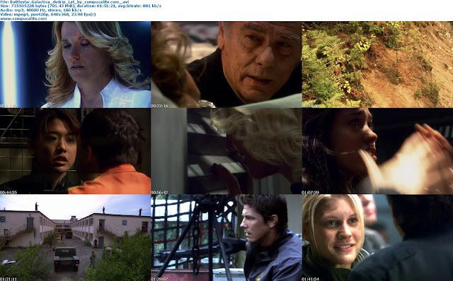 Battlestar Galactica The Plan DVDRip Latino 1 Link [2009]