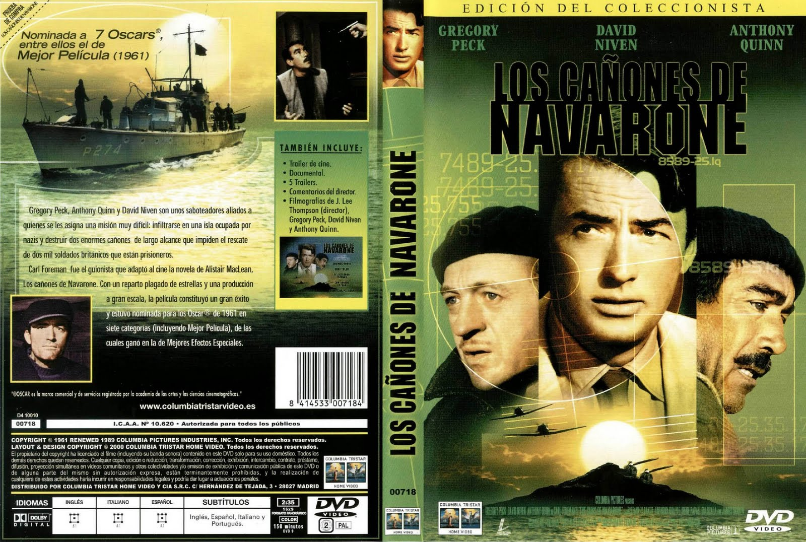 Los cañones de Navarone (1961 - The Guns of Navarone)