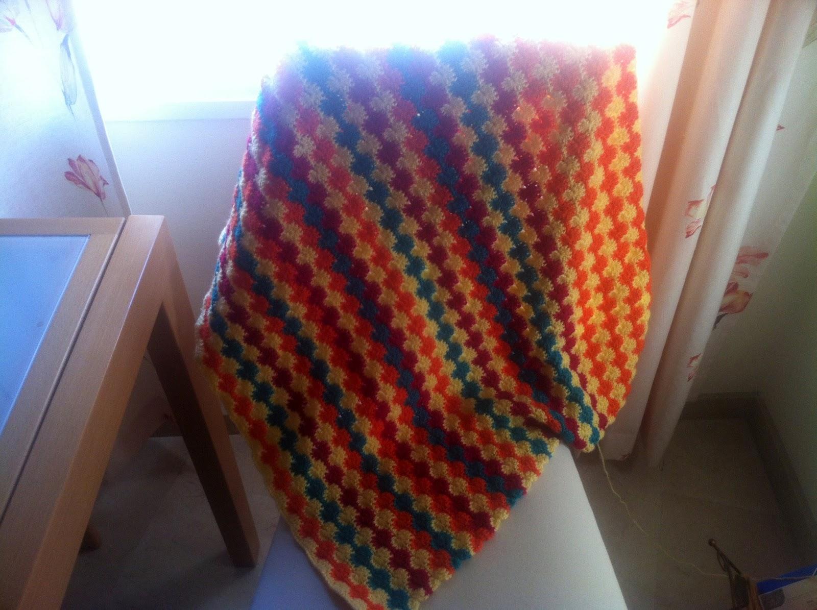 Patrones para mantas a crochet imagui - Patrones de mantas a crochet ...