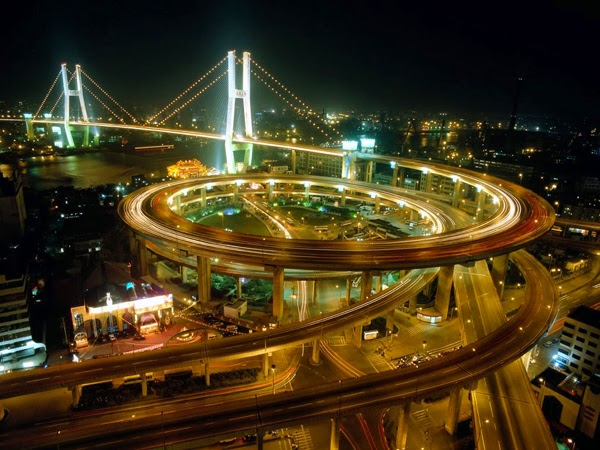 Beijing at night (China)
