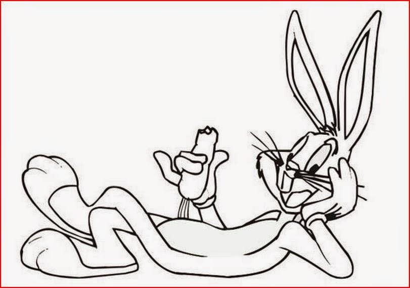 Bugs Bunny coloring.filminspector.com