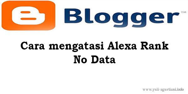 Cara Mengatasi Alexa Rank No Data
