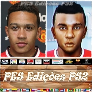 Memphis Depay (Manchester United) e Holanda PES PS2
