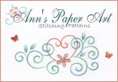 BEAUTIFUL CARD EMBROIDERY PATTERNS FROM ANN'S PAPER ART