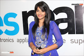 Anjali+in+blue+at+yes+mart+18+  +AtoZpuLse.com Exclusive Anjali latest cute photos   AtoZpuLse