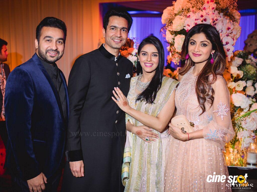 Actress asin wedding