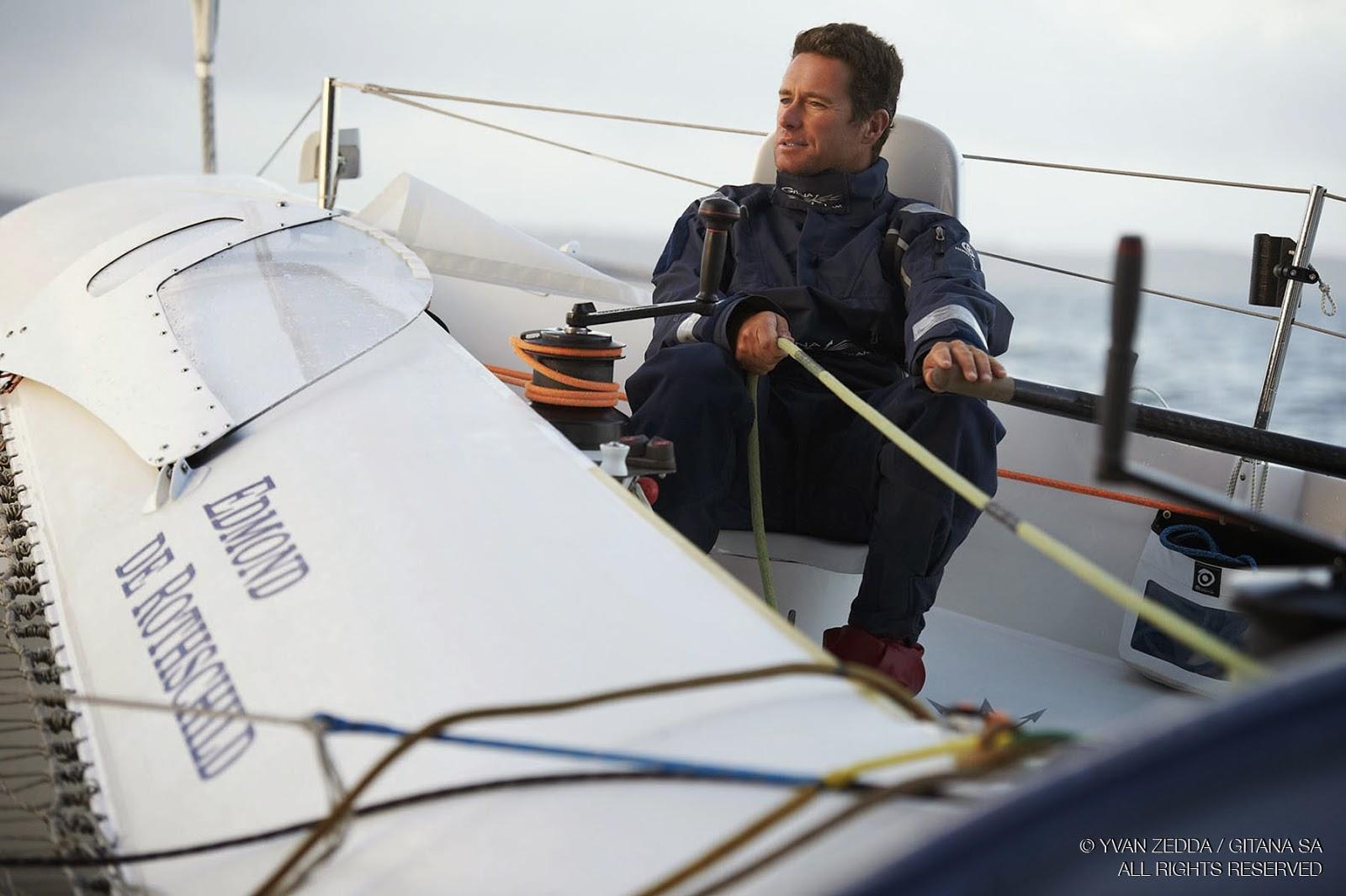 Sebastien Josse retrouve son MOD70 Gitana XV. Cap sur le Route du Rhum !